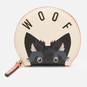 Radley Women's Woof Small Zip Around Coin Purse - Oyster