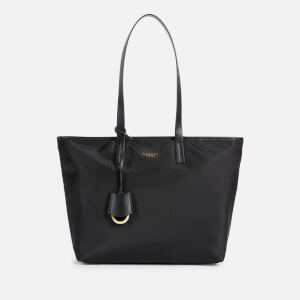 Radley Women's Finsbury Park Medium Ziptop Tote Bag - Black
