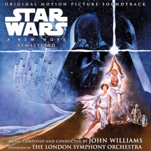 Star Wars : Un Nouvel Espoir Vinyle Bande-Son Original Motion Picture 2LP