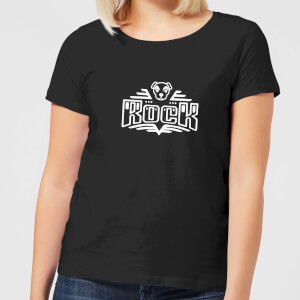 Nintendo Animal Crossing Rock KK Slider Women's T-Shirt - Black