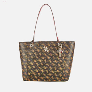 Guess Women's Noelle Elite Tote Bag - Brown