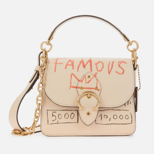 Coach 1941 Women's Coach X Basquiat Beat Shoulder Bag 18 - Ivory