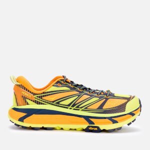 Hoka One One Men's Mafate Speed 2 Trainers - Bright Gold/Evening Primrose