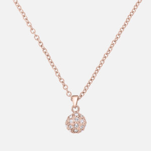Ted Baker Women's Pavra: Pave Ball Pendant - Rose Gold/Crystal