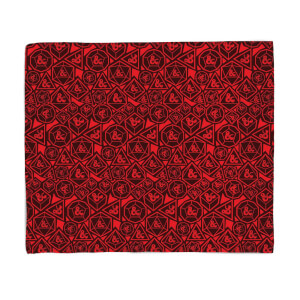 Donjons & Dragons Infernal Fleece Blanket