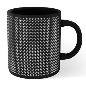 Raindrops Full Mug - Black