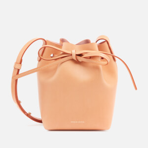 Mansur Gavriel Women's Mini Mini Bucket Bag - Cammello/Rosa
