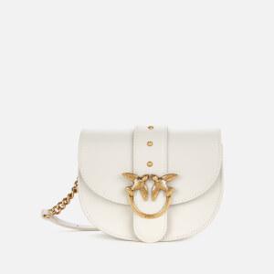 Pinko Women's Love Go Round Baby Simply Bag - White
