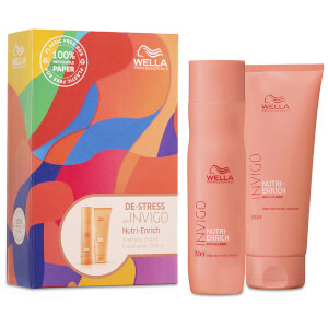Wella Professionals Care INVIGO Nutri-Enrich Deep Nourishing Duo (Worth $57.90)