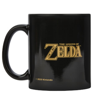 Zelda Legend Of Zelda Mug - Black