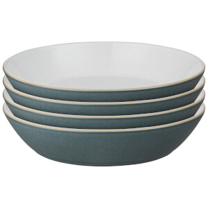 Denby Impression Charcoal Pasta Bowls (Set of 4)