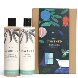 Cowshed Relax Bath and Body Duo (Worth £42.00)