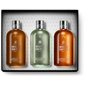 Molton Brown Woody and Citrus Gift Set (Worth $90.00)