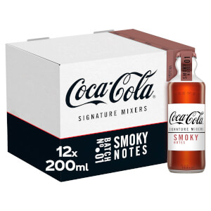 Coca-Cola Signature Mixers Smoky 12 x 200ml