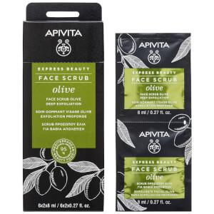 APIVITA Express Beauty Face Scrub with Olive 12 x 0.27 fl.oz
