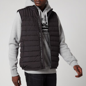 Superdry Men's Ultimate Core Down Gilet - Black