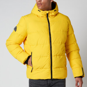 Superdry Men's Sports Puffer Jacket - Yellow