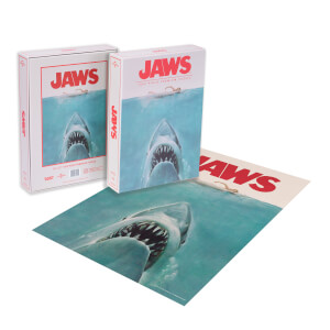 Dust! Jaws Classic Movie Poster 1000pc Puzzle - Zavvi Exclusive