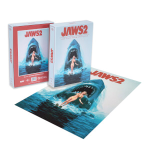 Dust! Jaws 2 Classic Movie Poster 1000pc Puzzle - Zavvi Exclusive