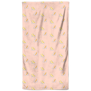 Crowded Beach Beach Towel
