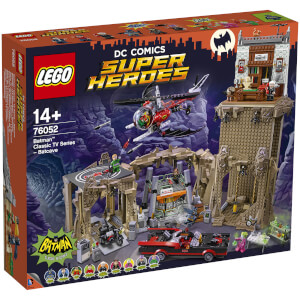 LEGO Super Heroes: Batman Classic TV Series – Batcave Building Set (76052)