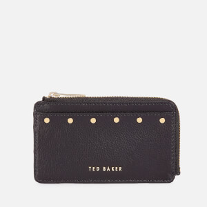 Ted Baker Women's Kaittie Studded Zipped Card Holder - Black
