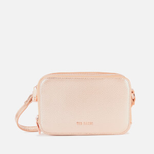 Ted Baker Women's Stina Double Zip Mini Camera Bag - Rose Gold