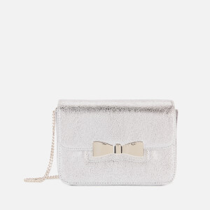 Ted Baker Women's Octavi Slotted Bow Cross Body Bag - Silver