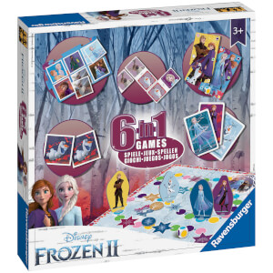 Ravensburger Frozen 2 - 6 in 1 Games Box