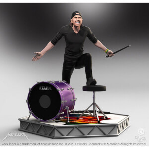 Knucklebonz Metallica Rock Iconz Statue Lars Ulrich Limited Edition 22 cm