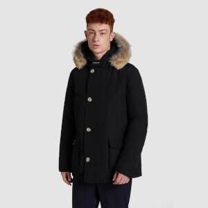 Woolrich Men's Arctic Fur Collar Anorak - Black