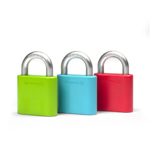 Thumbs Up! Padlock Wall Hooks (3 Pack)