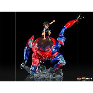 Iron Studios Peni Parker & Spider Drone Deluxe 1:10 BDS ArtScale Statue