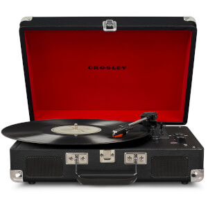 Cruiser Deluxe Portable Turntable (Black)
