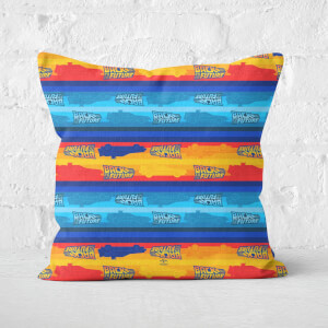 Back to the Future Square Cushion