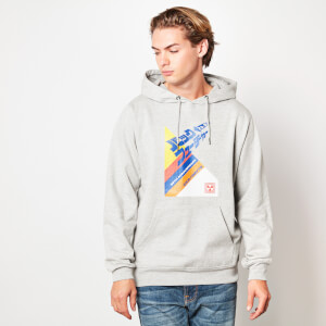 Back to the Future Kanji VHS-Cover Hoodie - Grey