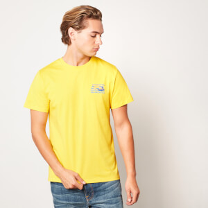 Back to the future 35 Hill Valley Front Unisex T-Shirt - Yellow