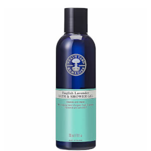 English Lavender Bath and Shower Gel 200ml