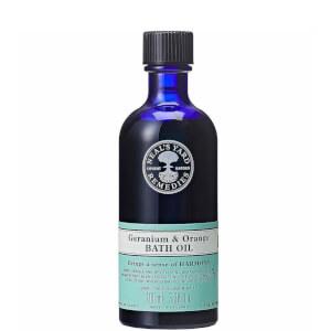 Geranium and Orange Bath Oil 100ml
