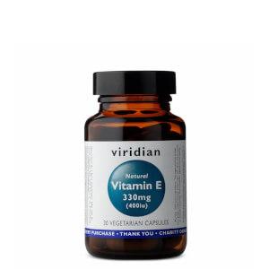 Natural Vitamin E - 30 Capsules