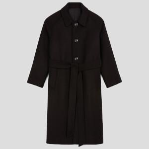AMI Women's Classic Coat - Black