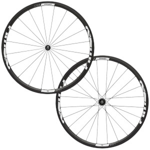 Fast Forward F3R DT350 Clincher Wheelset - Shimano - White Decal