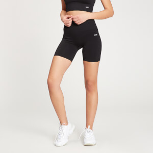 MP Women's Shape Seamless Ultra Cycling Shorts - Black