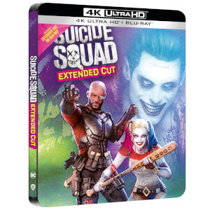 Suicide Squad - Steelbook 4K Ultra HD (Blu-ray 2D Inclut) - Exclusivité Zavvi