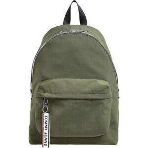 Tommy Jeans Men's Logo Tape Backpack - Cypress