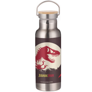 Jurassic Park T-Rex Portable Insulated Water Bottle - Steel
