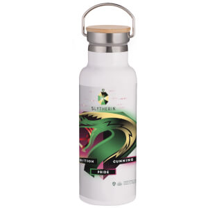 Harry Potter Slytherin Chromatherapy Portable Insulated Water Bottle - White