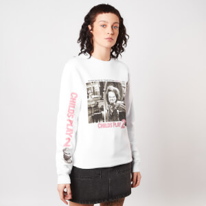 Chucky Childs Play 2 Women's Sweatshirt - White