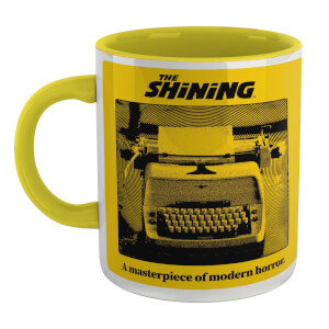 The Shining All Work And No Play Mug - White/Yellow