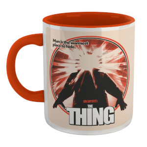 The Thing Retro Mug - Wit/Rood